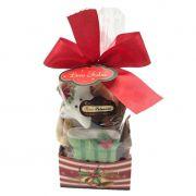 Pacote com Base de Biscoitos Sortidos Natal