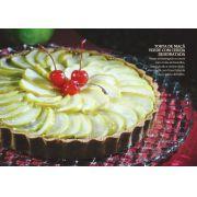Torta de Maça Verde com Cereja Desidratada