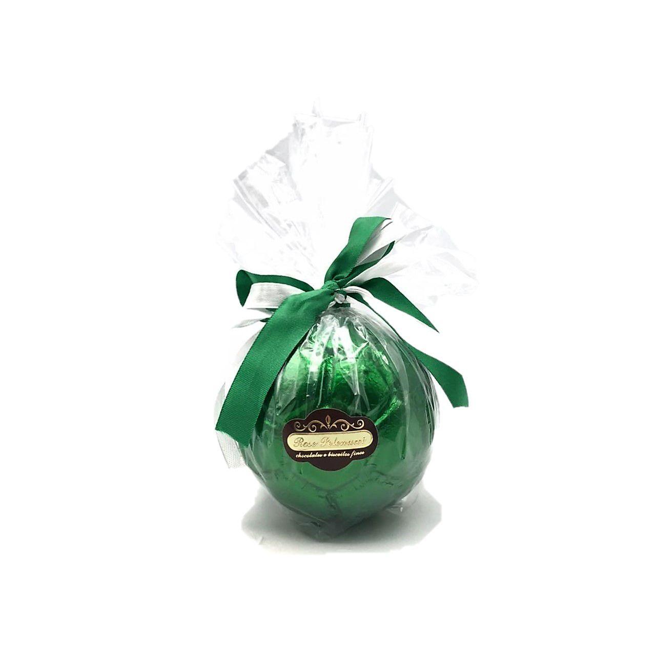 Bola de futebol de Chocolate ao Leite Grande verde