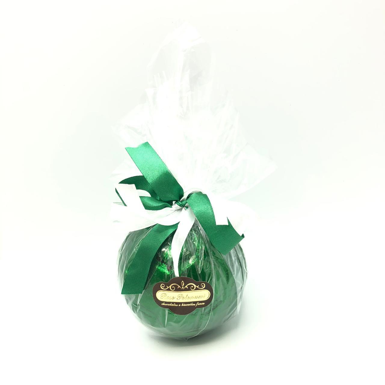 Bola de futebol de chocolate ao leite M - Verde