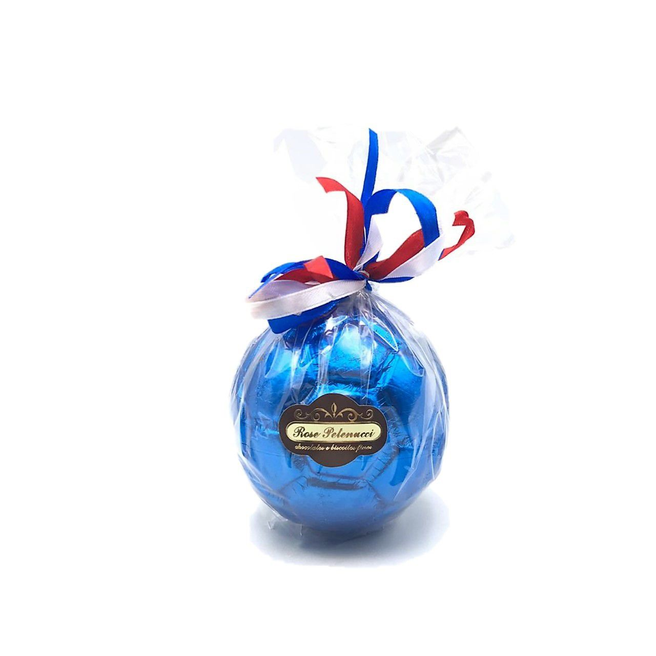 Bola de futebol de Chocolate ao Leite Médio Azul