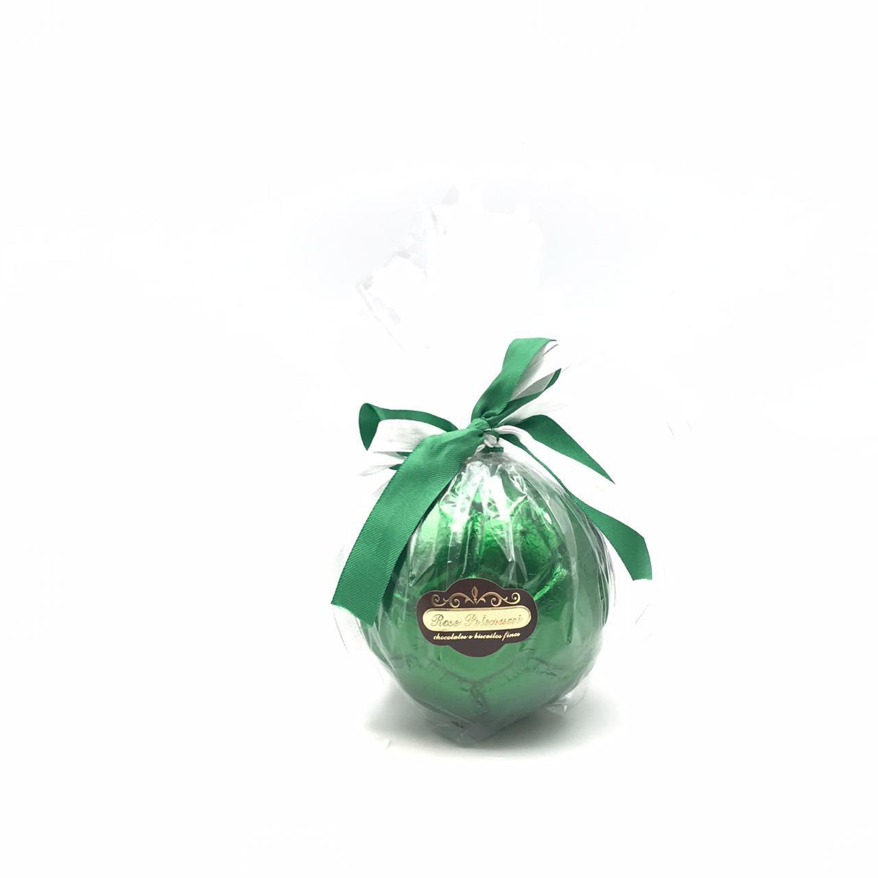 Bola de futebol de Chocolate ao Leite Médio Verde