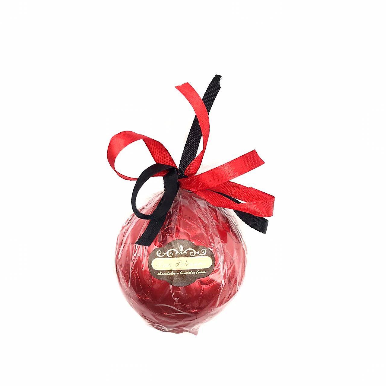 Bola de futebol de Chocolate ao Leite Vermelho