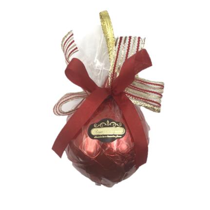 Bola Natalina de Chocolate ao Leite Médio DR
