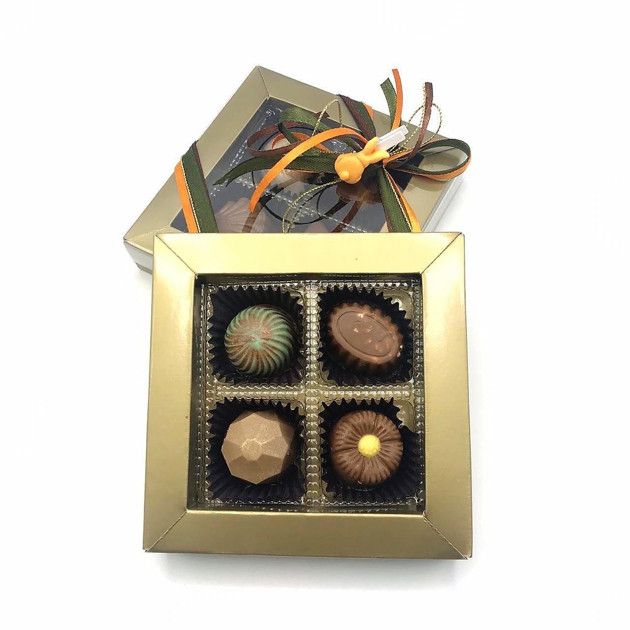 Caixa de Bombom Quatro Sem Adição de Açúcar