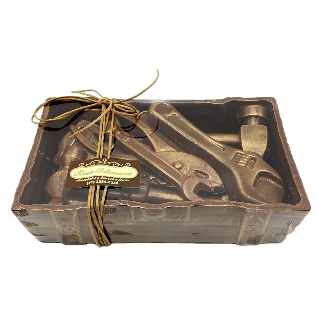 Caixa de Ferramentas de Chocolate - Dia dos Pais