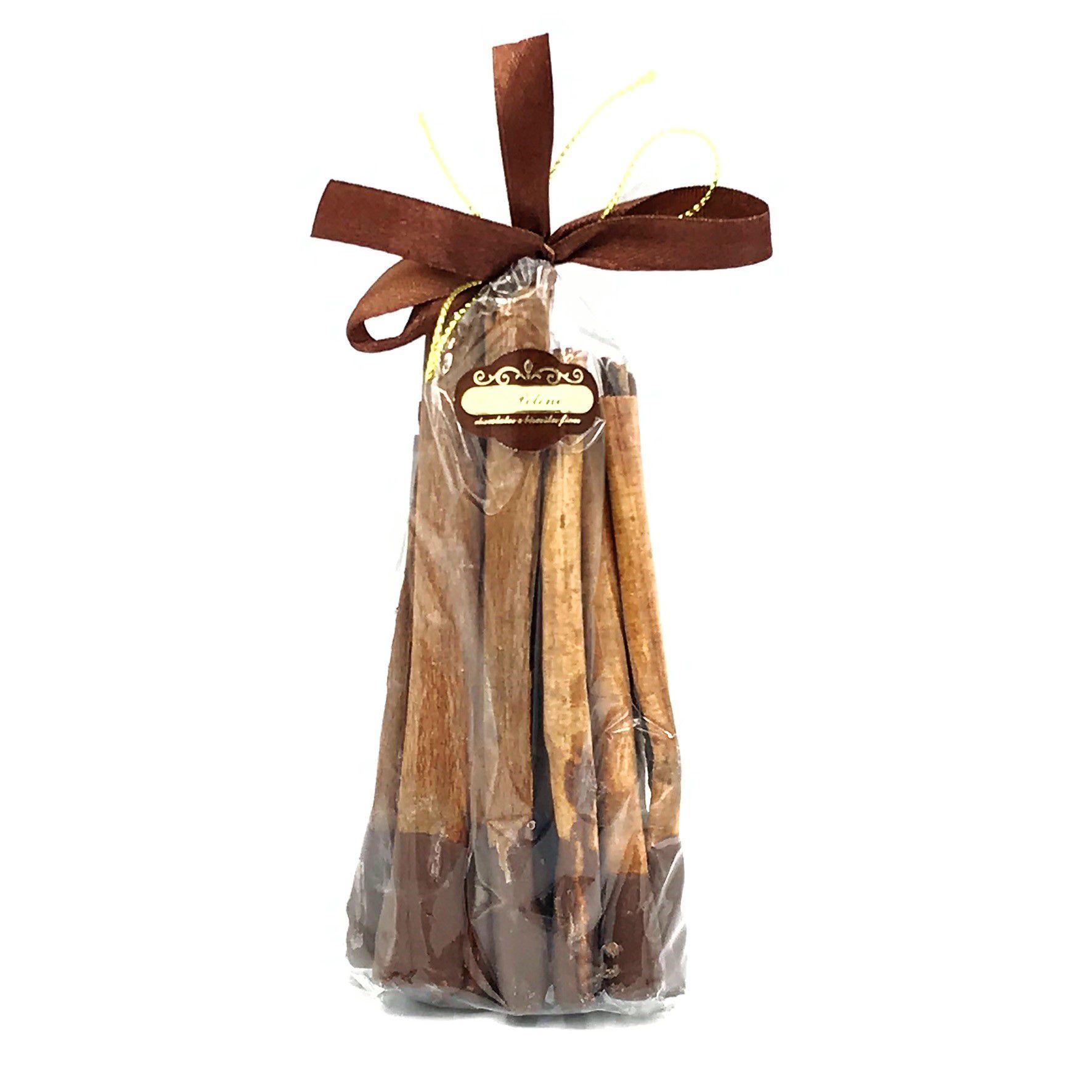 Canela com Ponta de Chocolate