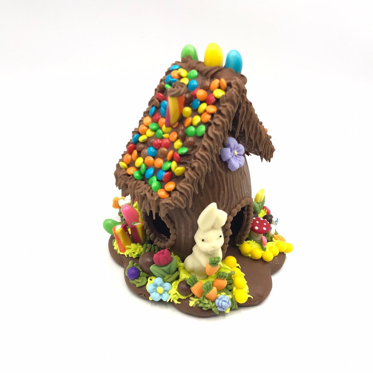Casinha de Pão de Mel e Chocolate