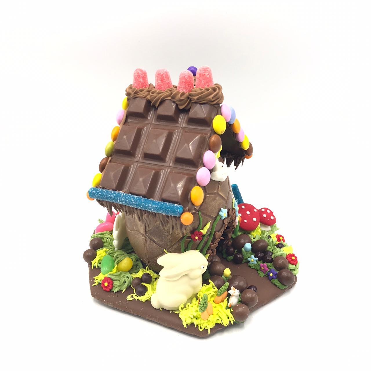 Casinha de Pão de Mel e Chocolate G