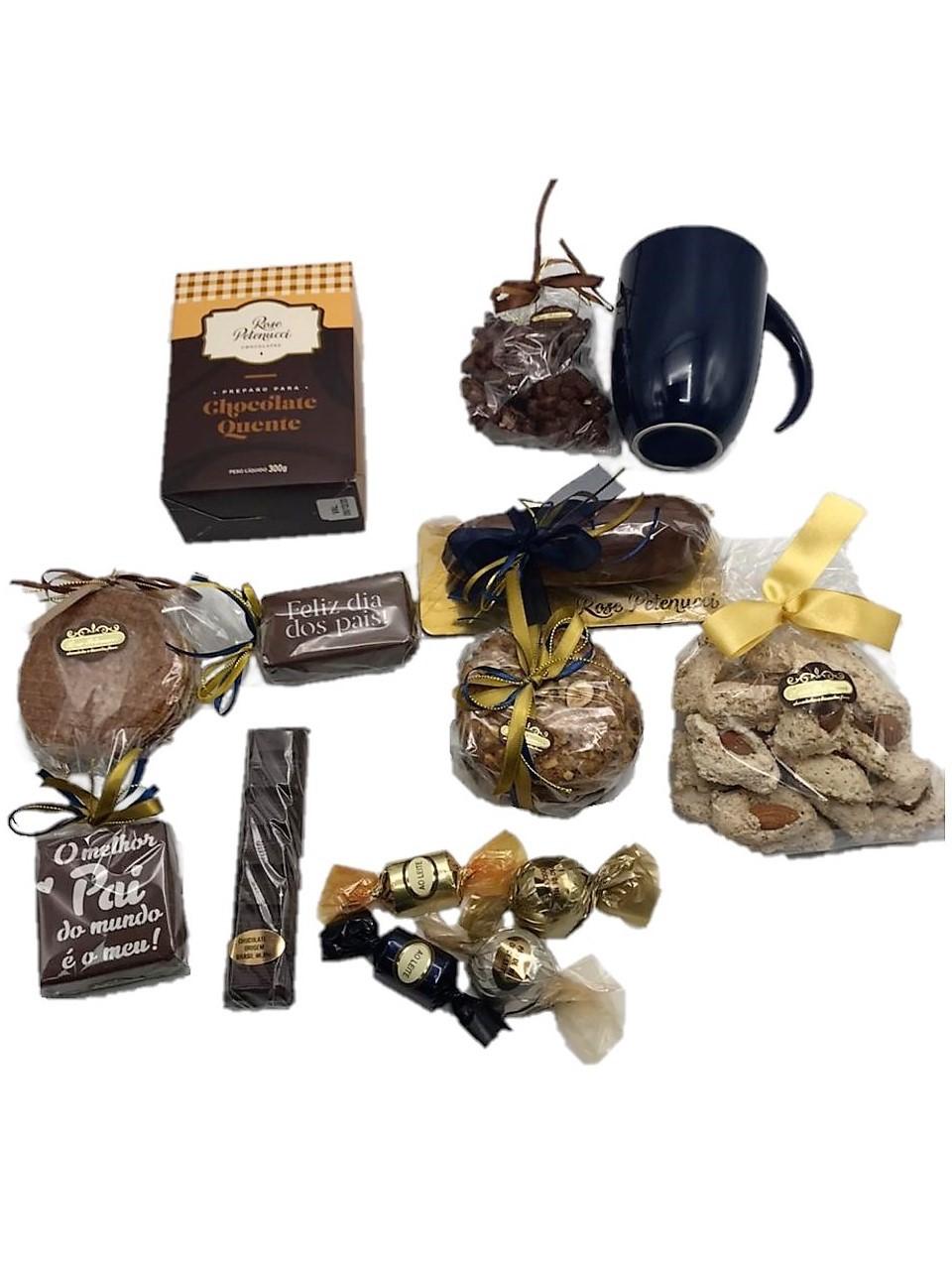 Cesta Chocolate Dia dos Pais