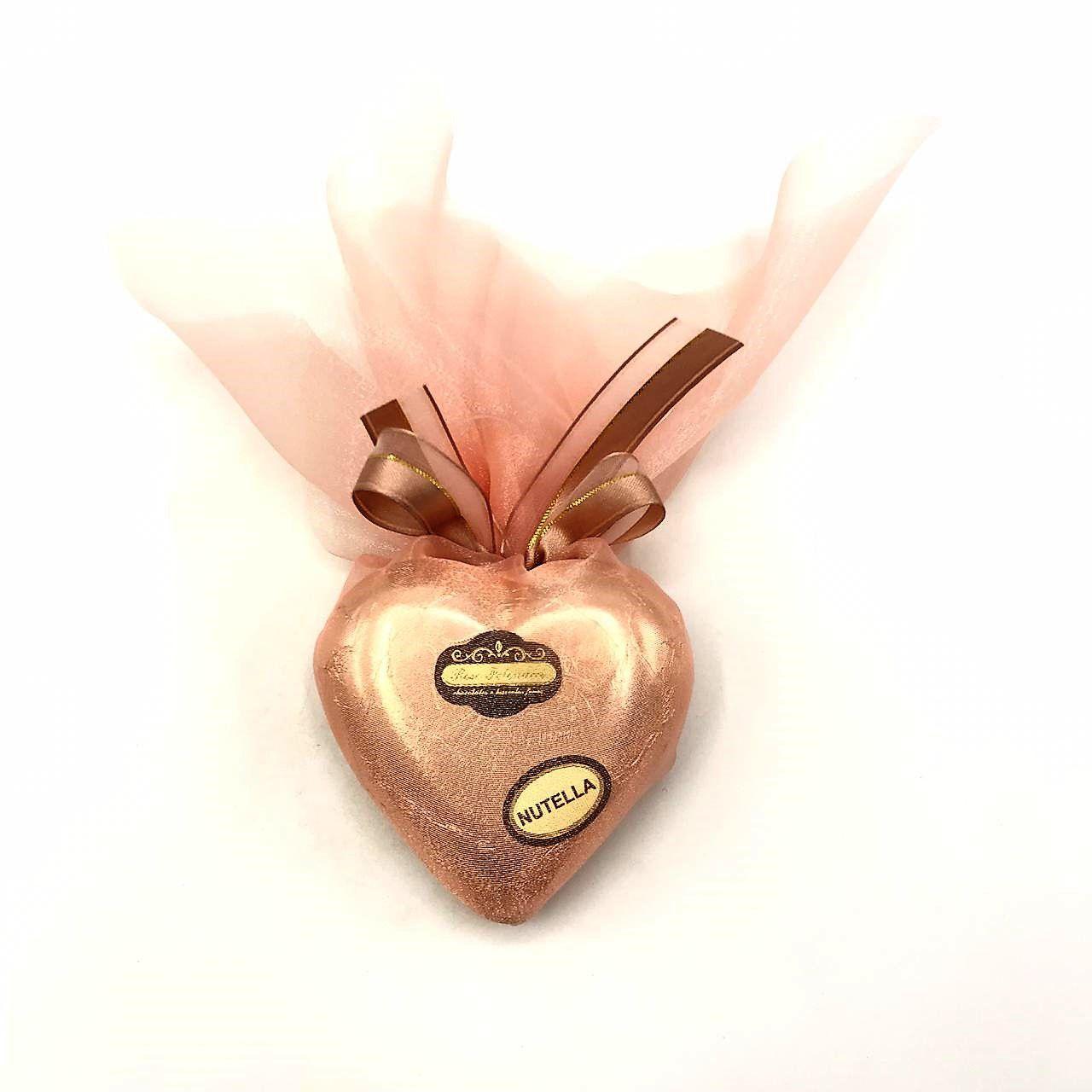 Coração de Chocolate com Nutella