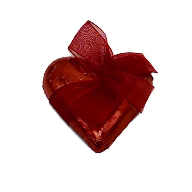 Coração de Chocolate (Metade)
