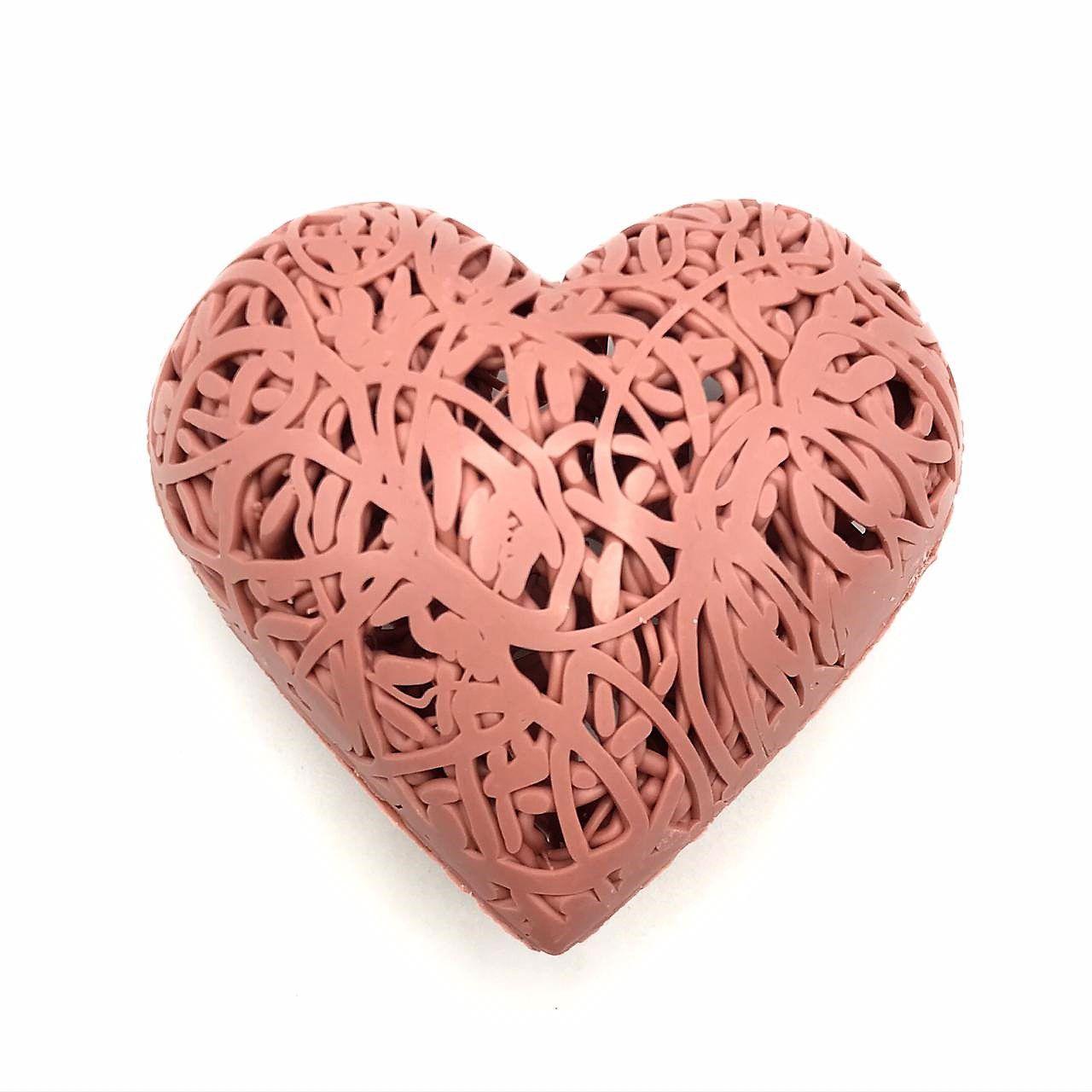 Coração de Chocolate Ruby