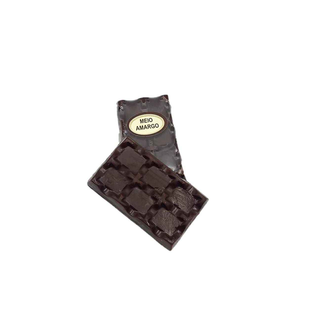 Mini Barrinha de Chocolate Meio Amargo