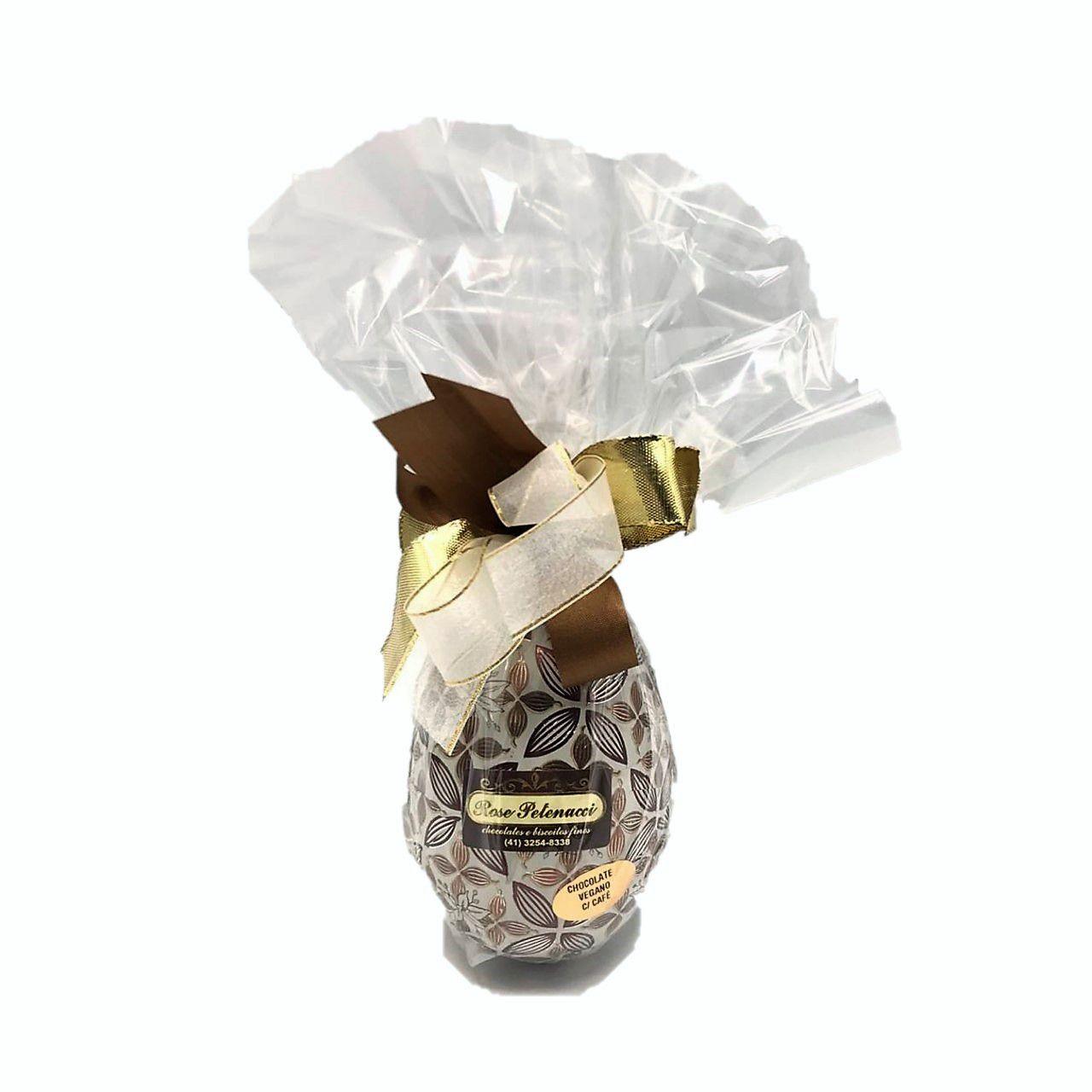 Ovo de Chocolate Le Antoni 63 % Com Café Vegano