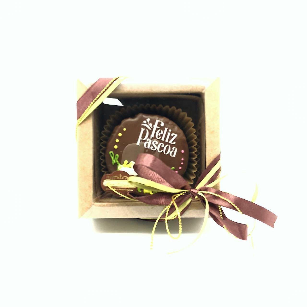 Pão de Mel Coberto de Chocolate