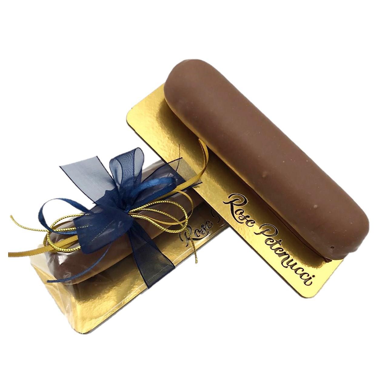 Salame de Chocolate ao Leite com Frutas Secas e Castanhas