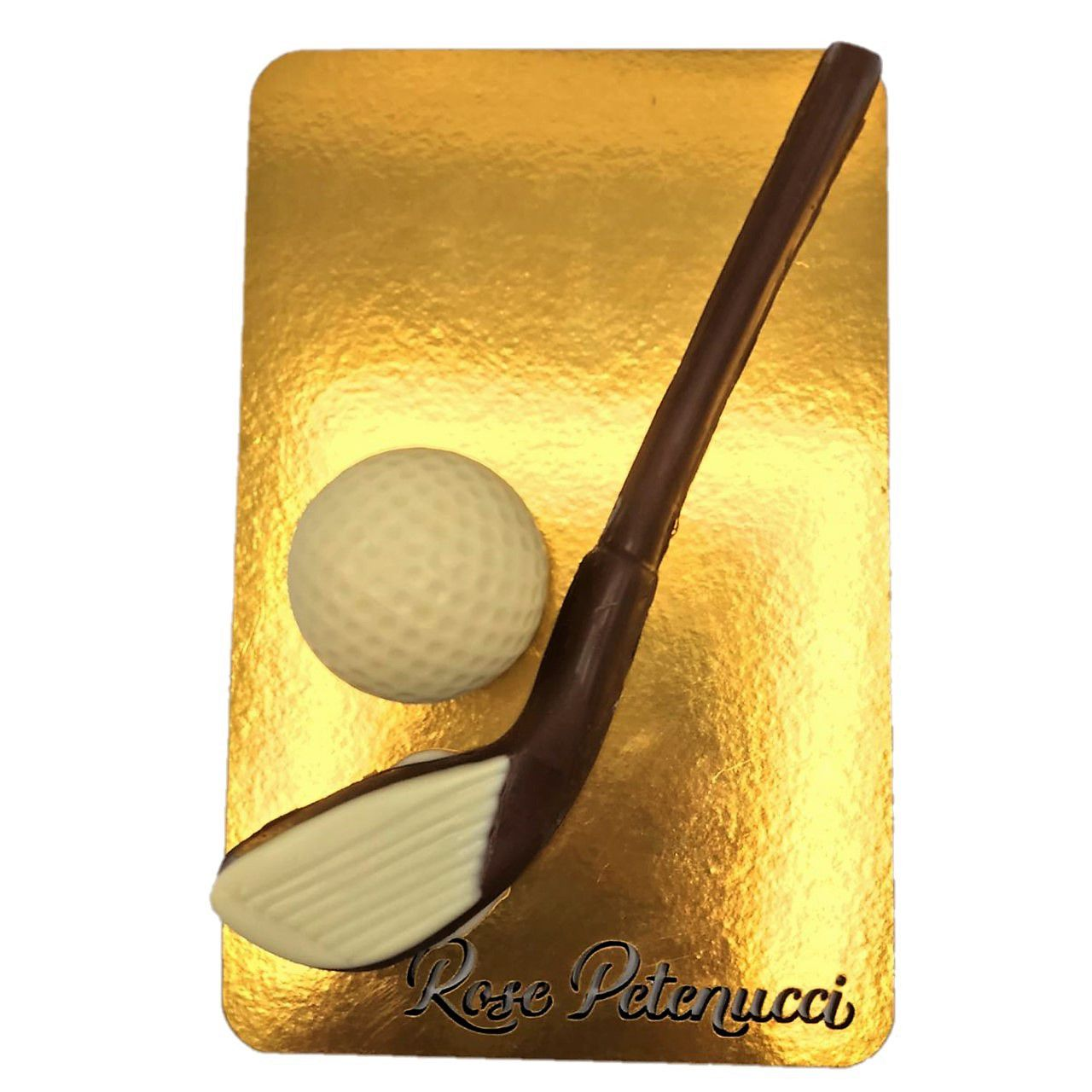 Taco de golf de chocolate ao leite