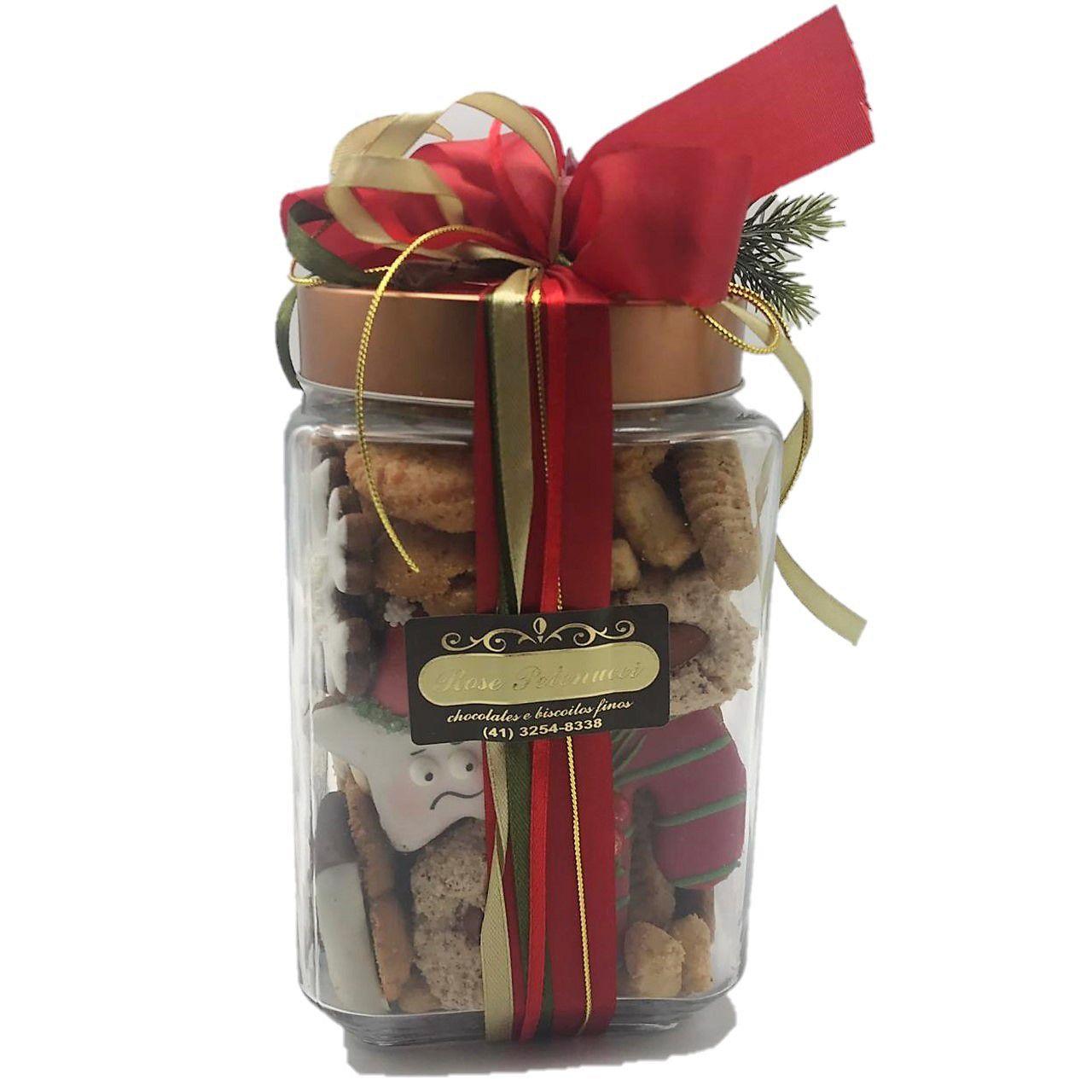 Vidro com Biscoitos Doces Variados NT GD