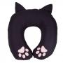 Almofada de pescoço shape - gatinha