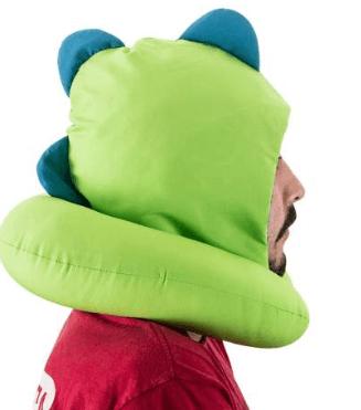 Almofada Pescoço capuz - Diversauro