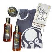 Kit Porta Celular Grátis + Balm + Shampoo e Condicionador de Barba + Bag Artesanal