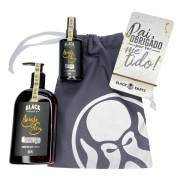 Kit Porta Celular Grátis + Shaving Gel de Barbar + Pós Barba + Bag Artesanal