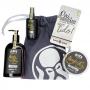 Kit Porta Celular Grátis + Shaving Gel de Barbar + Pós Barba + Pomada Molhada + Bag Artesanal