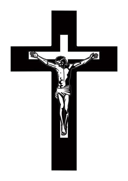 Crucifixo Linha Laser- Modelo 01