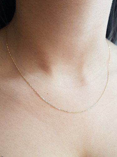 Corrente Colar Gargantilha Cartier Feminino Ouro 18k Elos Maciça Delicada