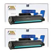 2 Toners Compatível HP M105A 105A W1105A SEM CHIP - 107A 107W 135A 135W
