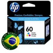 Cartucho HP 60 Tricolor CC643WB - 6,5ML