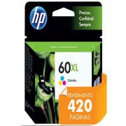 Cartucho HP 60XL Tricolor CC644WB - 15,5ML