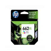 Cartucho HP 662XL Tricolor CZ106AB - 8,0ML