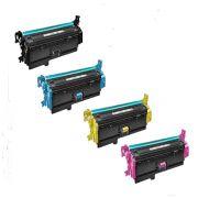 Kit 4 Toner HP CF400A CF401A CF402A CF403A - 201A Compativel