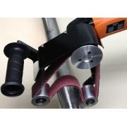 Lixadeira / Politriz P/ Tubos De Aço Inox E Aluminio