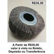 RODA PG - RODA DE LIXA - POLIKONTOUR - 150X50 MM