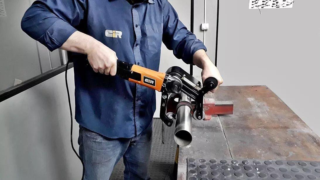 Lixadeira / Politriz P/ Polir e Escovar Tubos de Inox e Metais em Geral - Fabricação Nacional