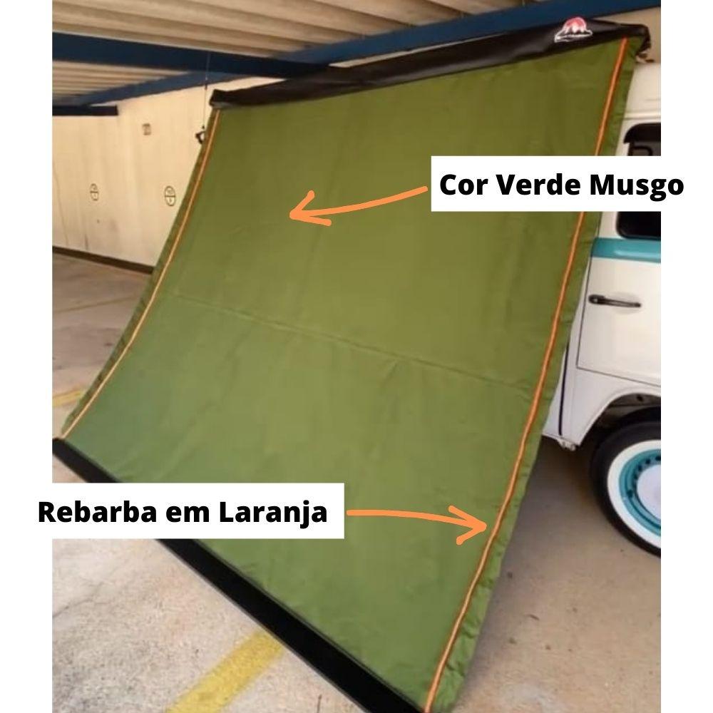 Toldo Lateral Retrátil para Carros Verde |<b> Verifique Disponibilidade </b>