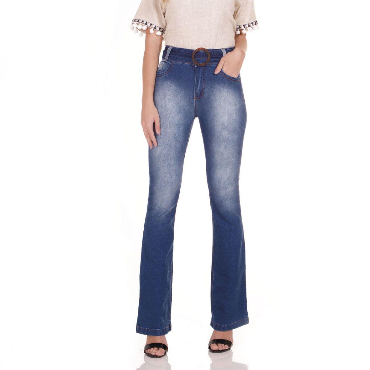 Calça Jeans Areazul Bootcut Feminina