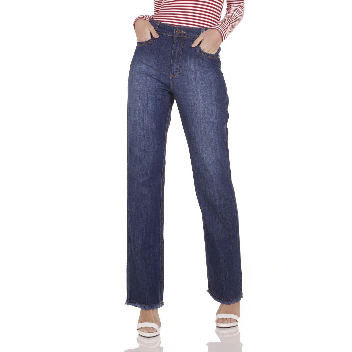 Calça Jeans Areazul Wide Feminina