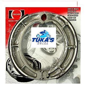 Patim Traseiro PV1207 - VBlade 250 (2006 em diante) - Tukas Motos Comércio Ltda