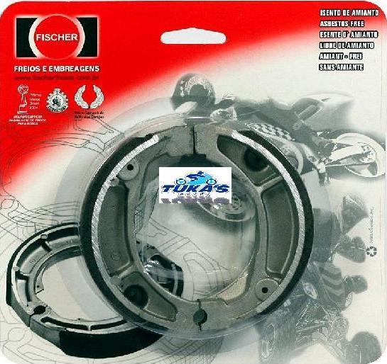 Patim Traseiro PV1094 - Win 110 - Tukas Motos Comércio Ltda
