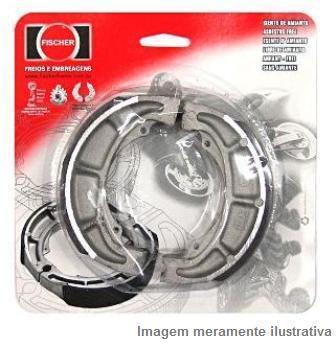 Patim Traseiro PV0908 - AN125 Burgman (2002 a 2011) - Tukas Motos Comércio Ltda