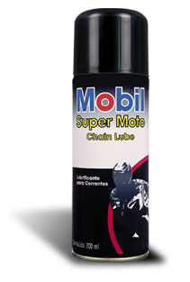 Lubrificante Para Corrente Mobil Super Moto Chain Lub - Tukas Motos Comércio Ltda