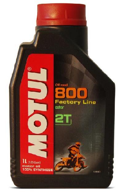 Oleo Motul 800 2T Factory Line Off Road (1 Litro) - Tukas Motos Comércio Ltda