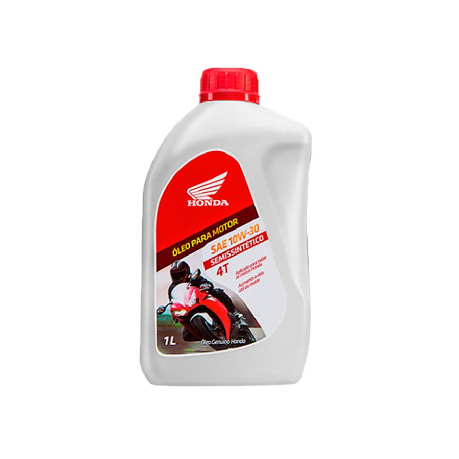 Oleo Genuino Honda Semissintetico 10W-30 (1 Litro) - Tukas Motos Comércio Ltda