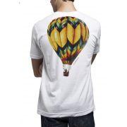 Camiseta Amazônia Balão - Branco