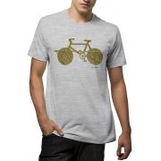 Camiseta Amazônia Bike Folha - Mescla