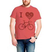 Camiseta Amazônia I Love Bike - Vermelho